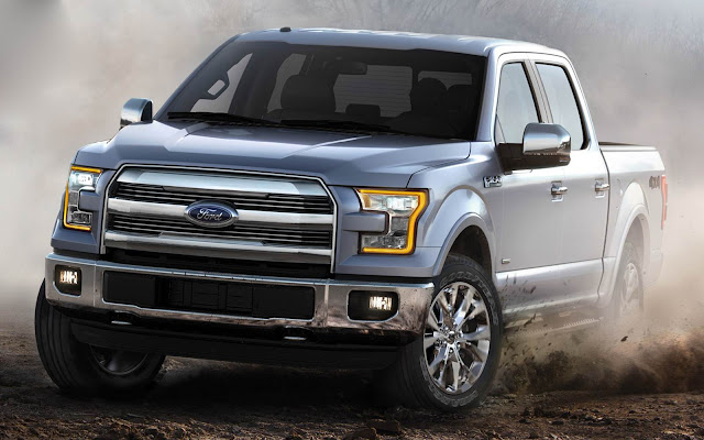 2015 all new Ford F-150