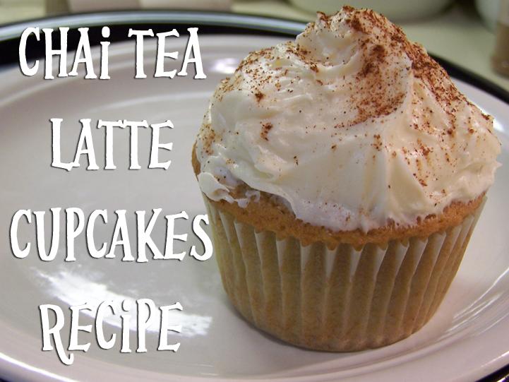 Vanilla Chai Tea Latte Cupcakes ~ Carissa's Creativity Space
