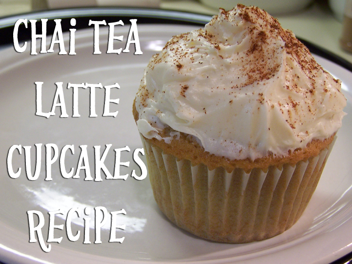 Vanilla Chai Tea Latte Cupcake Recipe - Creative Green Living