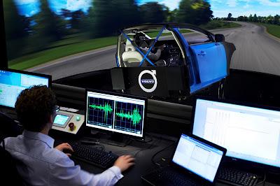 Η Volvo με τον κορυφαίο στον κόσμο εξομοιωτή πλαισίου