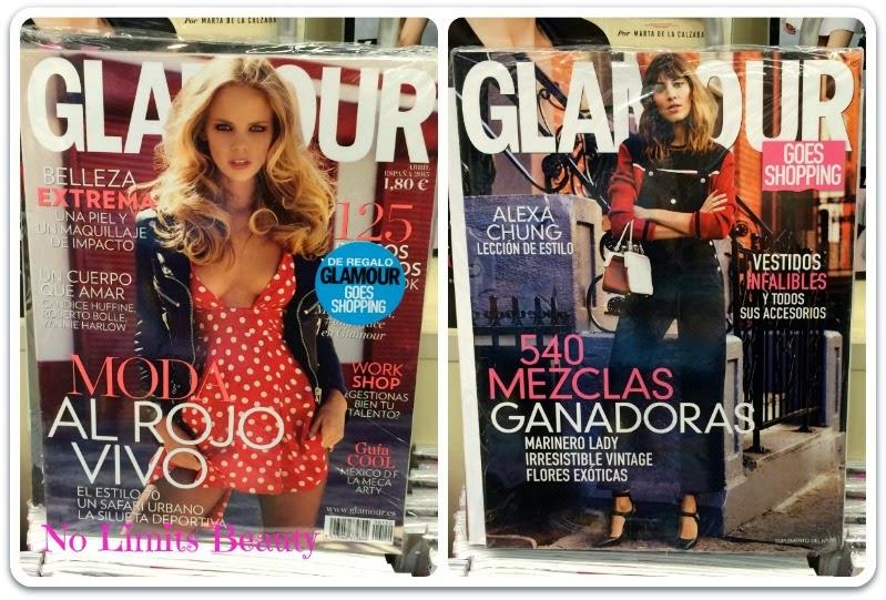 Regalos revistas Abril 2015: Glamour Pocket