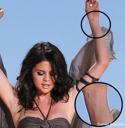 Selena Gomez Tattoo 2013
