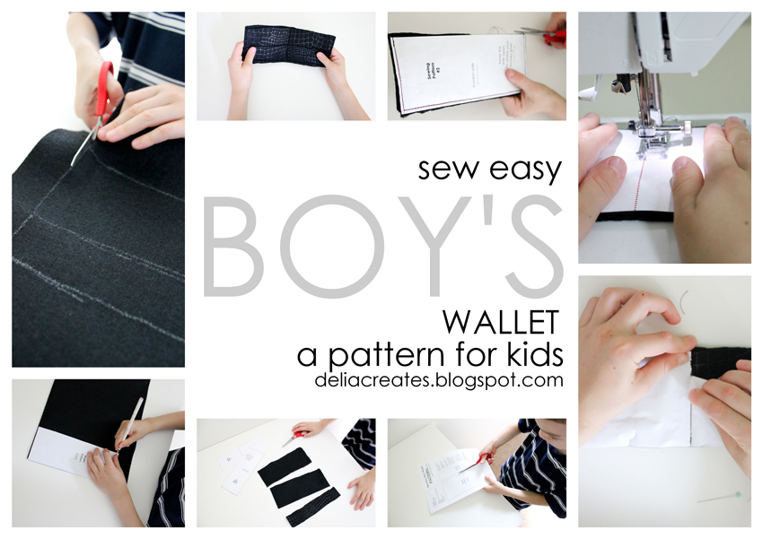 Sew Easy Boy\'s Wallet Pattern