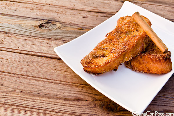 Torrijas caseras - Receta paso a paso