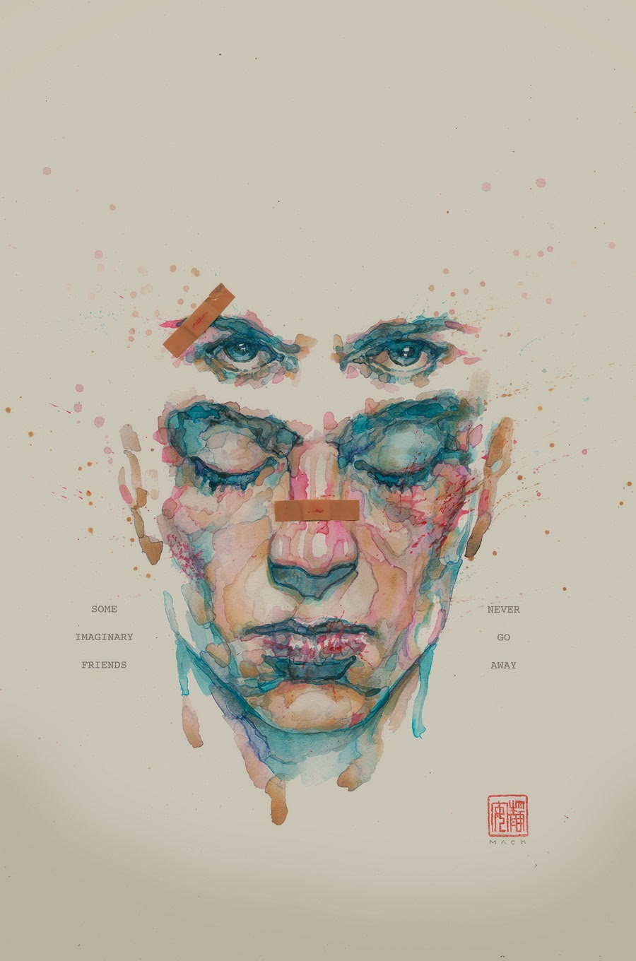 Watercolor book covers - Chuck Palahniuk W Cameron Stewart A Variant Cover Dave Stewart C David Mack Cover And Lee Bermejo Variant Cover On Sale May 27 Ongoing