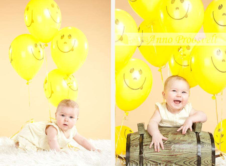 pildistamine-fotostuudios-beebi-kollased-ohupallid
