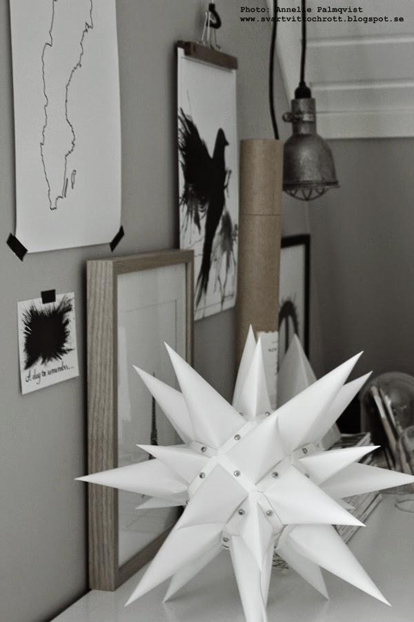 konsttryck, artprint, artprints, art, print, prints, tavlor i svartvitt, svartvita motiv på konsttryck, posters, poster, på väggen, tips på tavlor, moravian stjärna, moravian star, artilleriet,