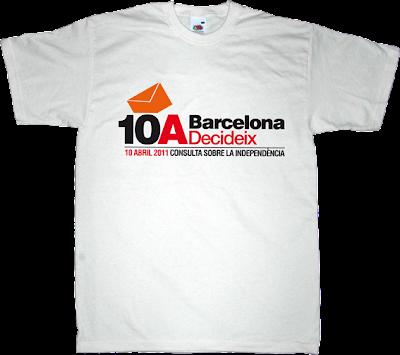 catalonia catalan Politics t-shirt ephemeral-t-shirts barcelona