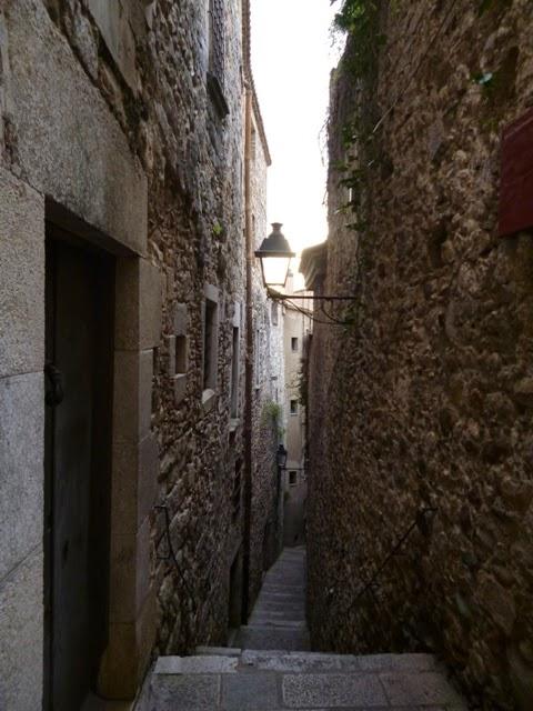 Calles de la judería. Girona