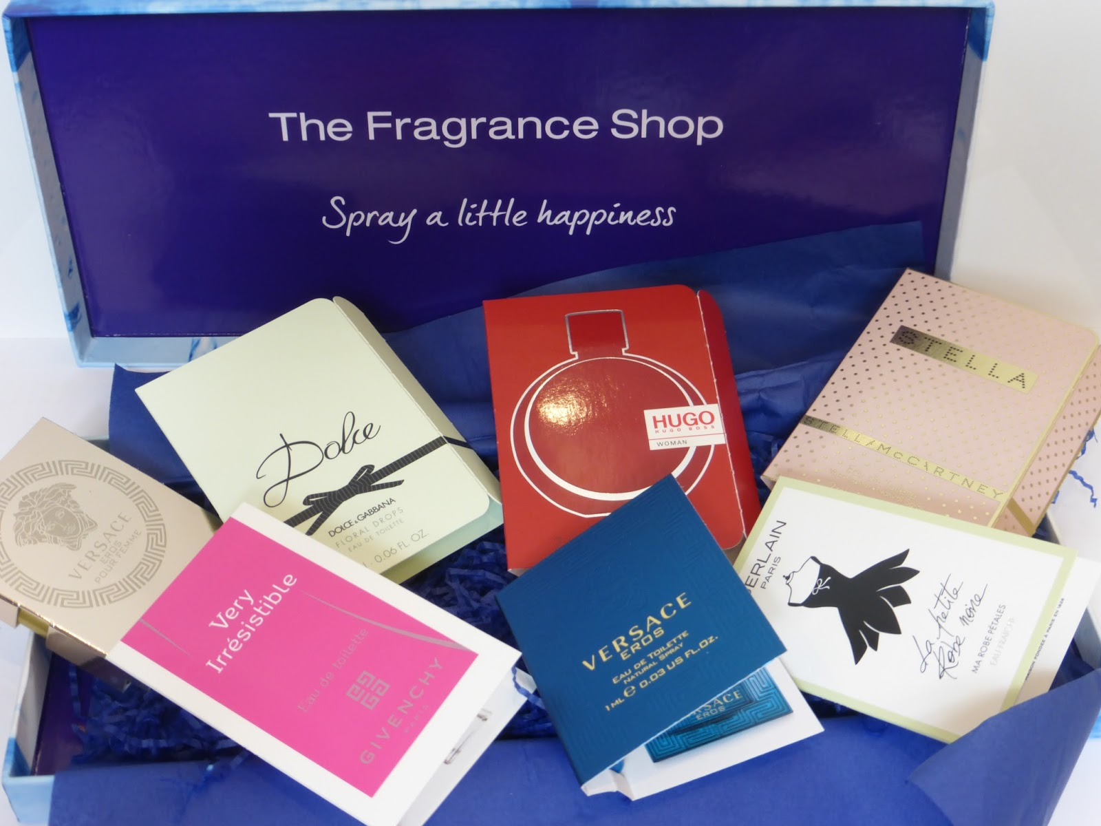 The Fragrance Shop's Spring Discovery Box