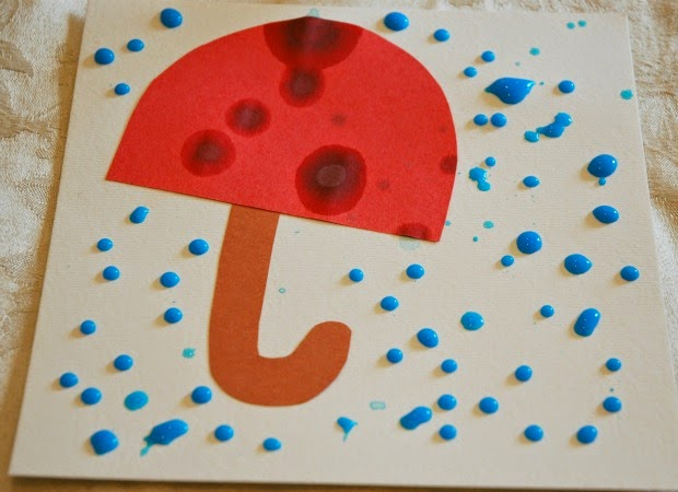 Looks Like Rain What Can We Do With Paper And Glue