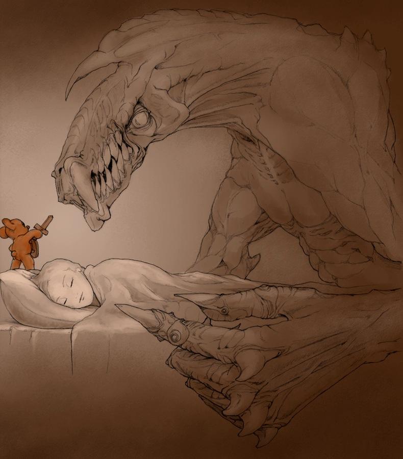 Sweet halloween dreams by begemott