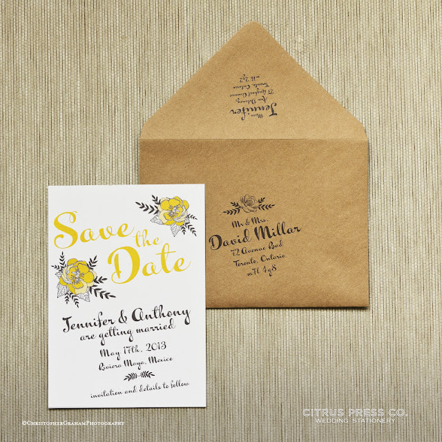 flowers, folk, boho, illustrated, save the date, custom, caligraphy, envelope printing