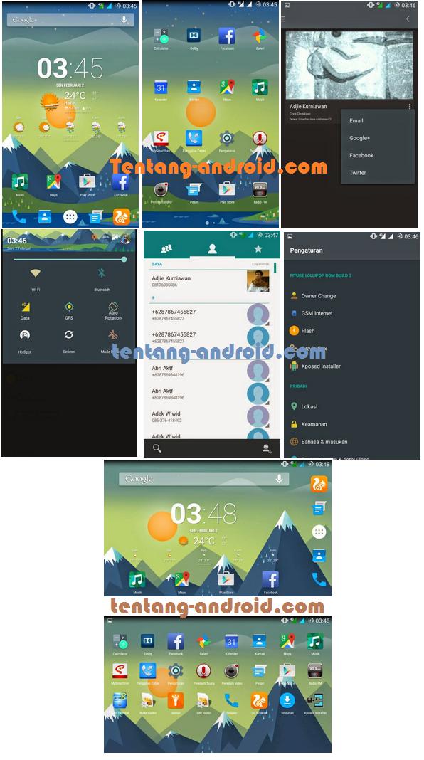 Custom ROM Samsung S5 For Andromax C2 New kitkat