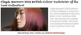 Clayde Baumann 2014 British Colour Technician of the Year Collection!