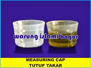 Measuring Cap Tutup Sloki 15 ml