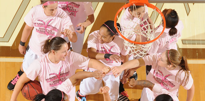 women&#39;s <b>basketball</b> team is