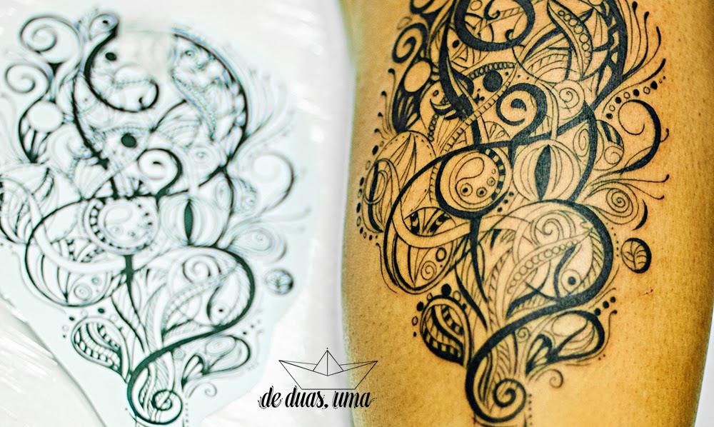 tatuagem personalizada criatividade
