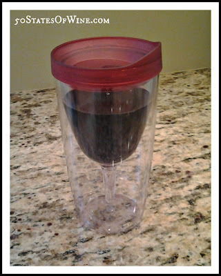 Vino2Go Plastic Tumbler