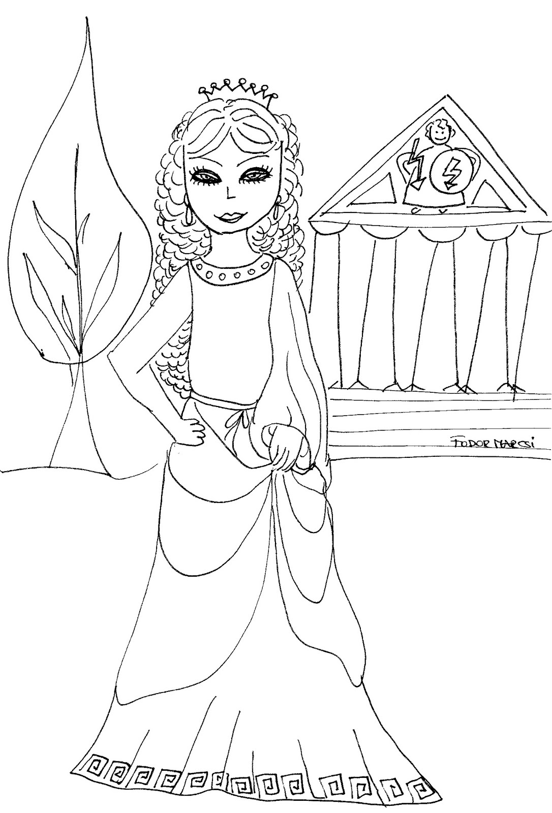 Rainbow magic coloring pages to print
