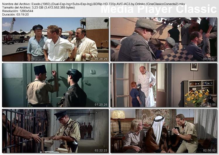 Imágenes / secuencias de la película: Éxodo | 1960