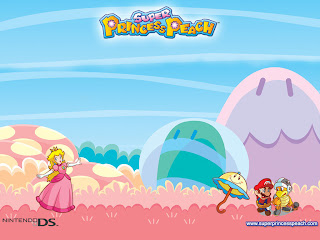 Super Princess Peach super mario bros