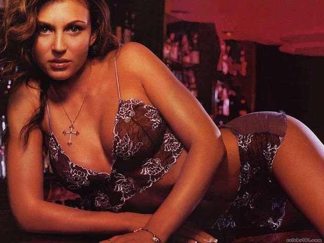 Cerina Vincent sexy in lingerie