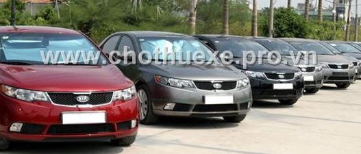 Cho thuê xe 4 chỗ KIA Forte đới mới 2014