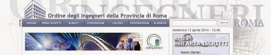 http://www.ording.roma.it/formazione/aggiornamentoprofessionale.aspx