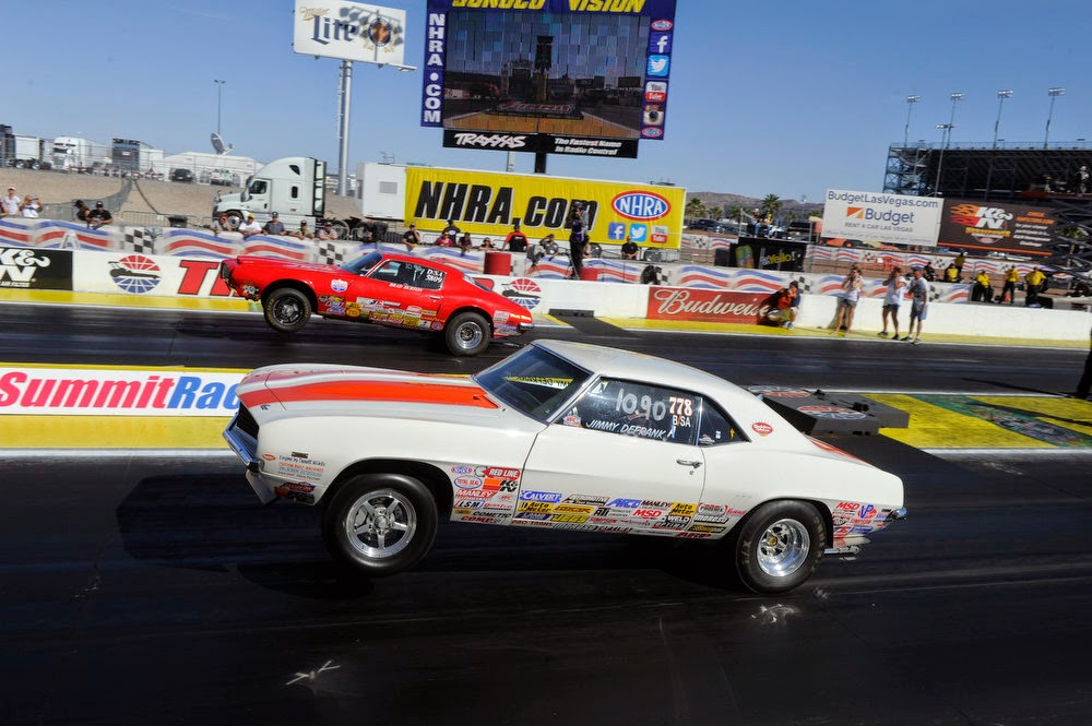 Covering Classic Cars : Jimmy DeFrank Doubles Up at the NHRA Event ...