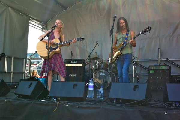 Anthea Neads & Andy Prince play live at VegFest Bristol May 2012