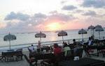 Sunset dinner di pantai kedonganan,Jimbaran