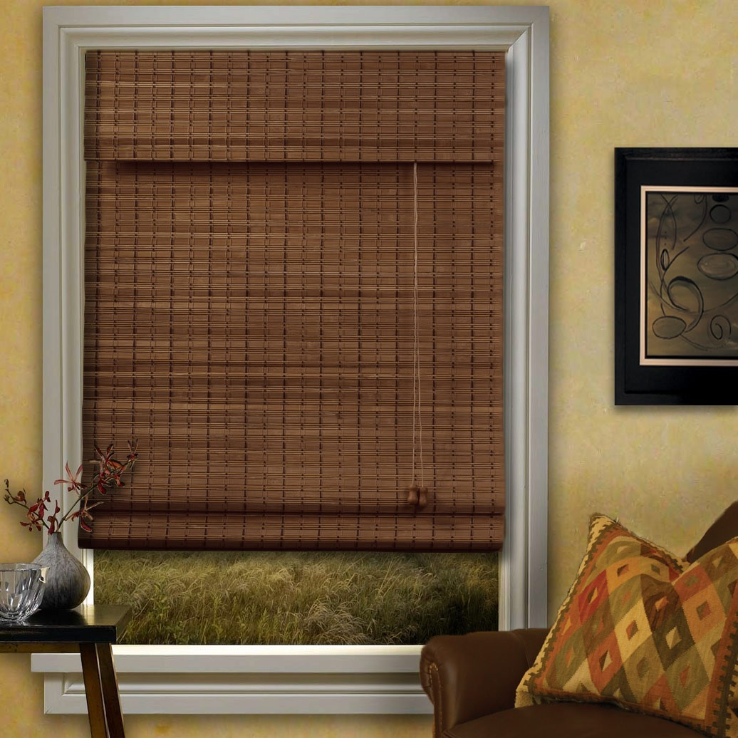 Of bamboo roman blinds compare prices save money on window blinds