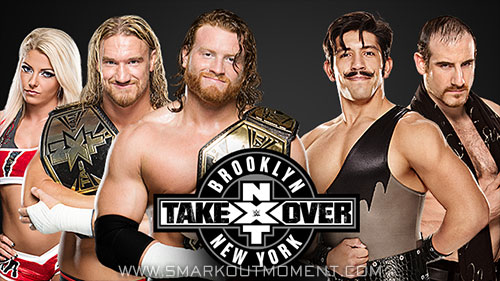 WWE NXT TakeOver Brooklyn PPV Tag Team Title Match