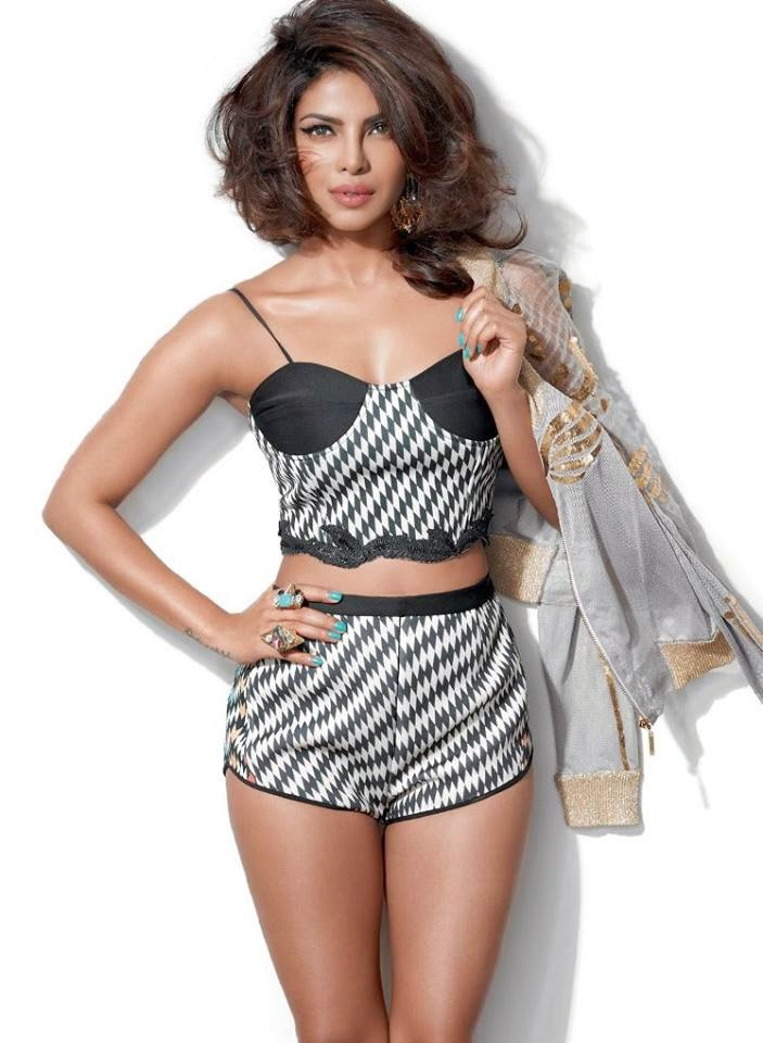 Priyanka Chopra‬ photo shoot for Cosmopolitan India Magazine March 2015