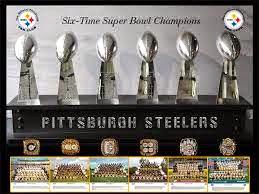 Steelers 6 Super Bowl Trophies