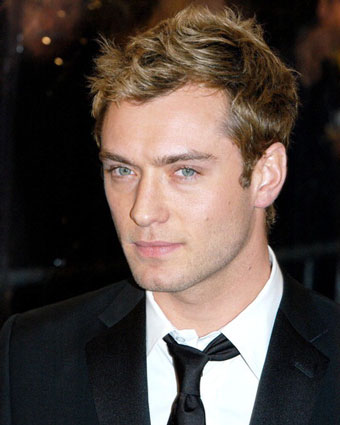 Jude Law HairStyle (Men HairStyles) - Men Hair Styles Collection