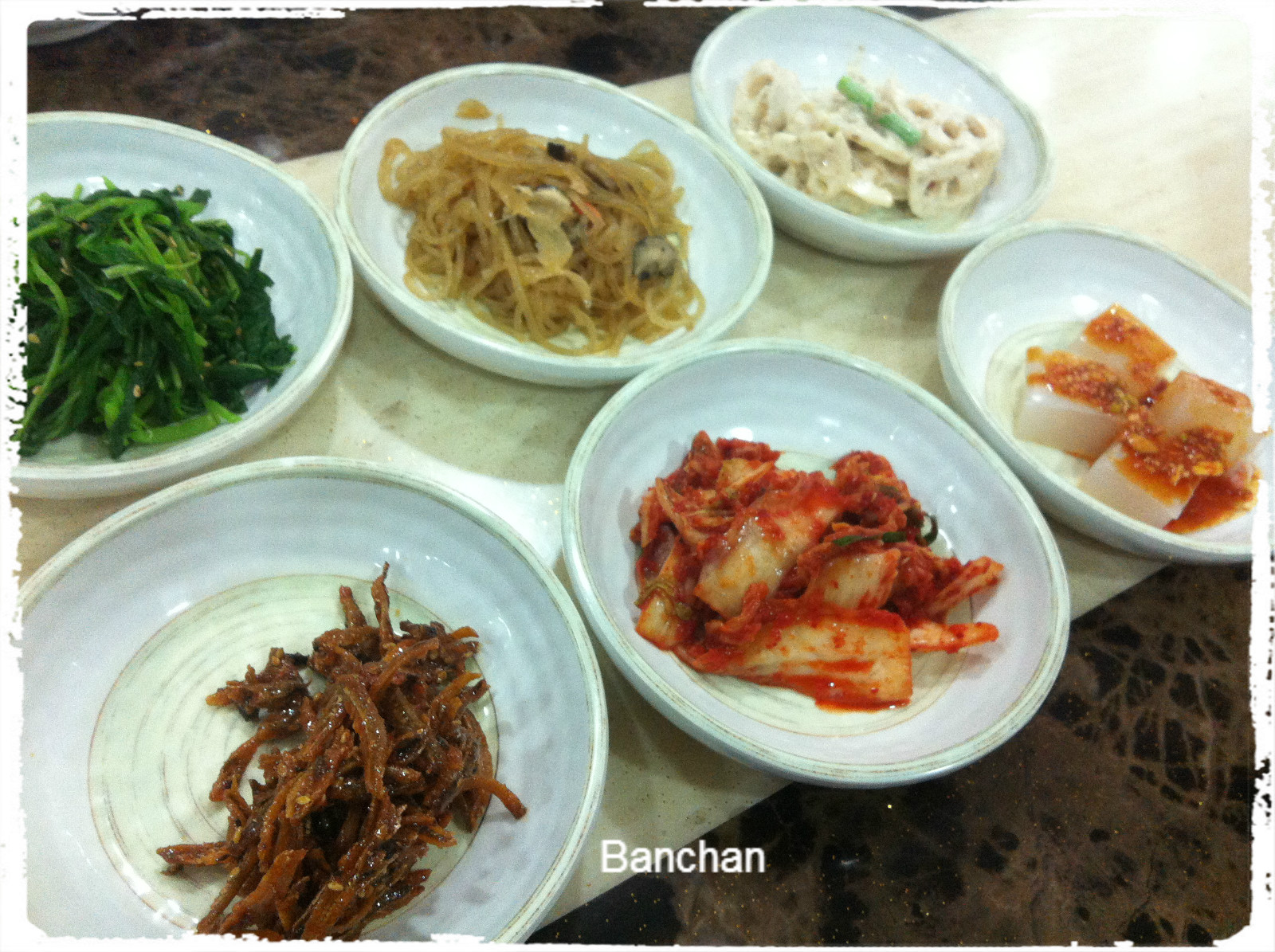 Giraffec eat singapore korean cuisine bigmama korean for Authentic korean cuisine