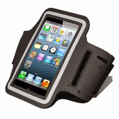 Armband nera custodia fascia da braccio per iphone 5 e - Porta ipod da braccio ...
