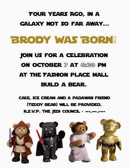 Team Hess Star Wars Build a Bear Party