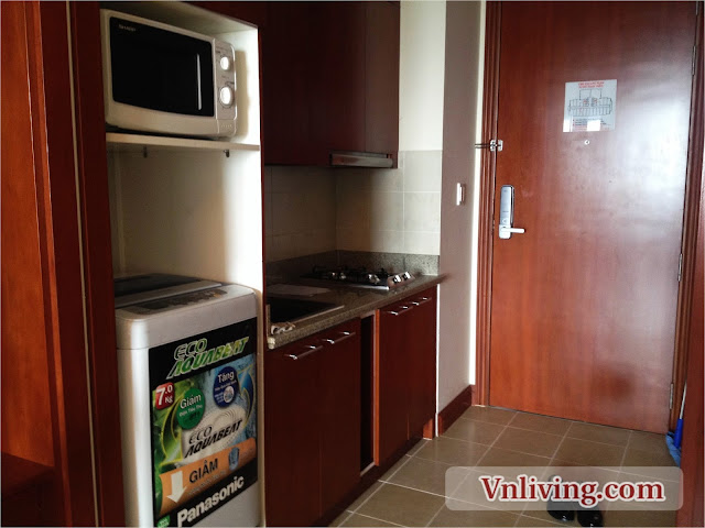 The Manor Officetel apartment for rent 1 bedroom nice view in city