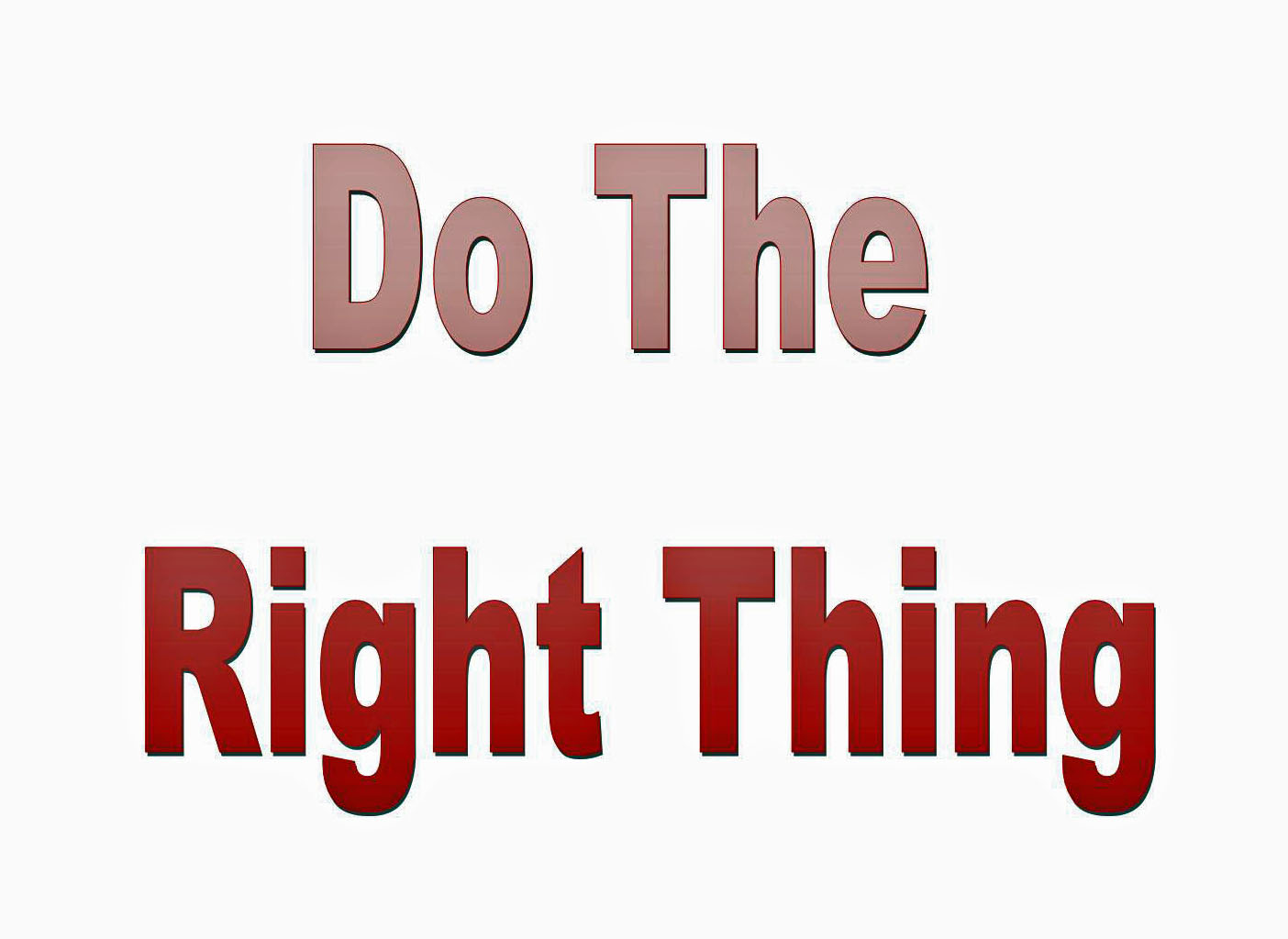 West Virginia Lawyer  Tips and Techniques: Doing the Right Thing