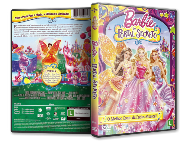 Capa DVD Barbie E O Portal Secreto