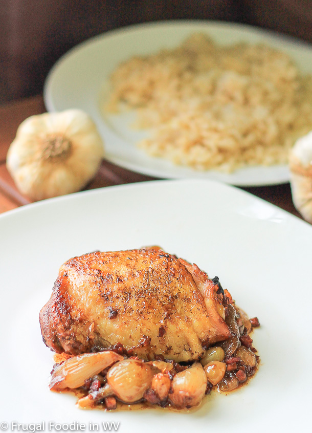 Sweet and Savory Vinegar Braised Chicken with Pancetta and ...