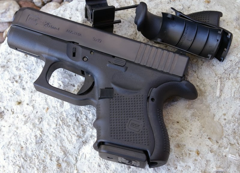 Baby 9mm Extended Clip