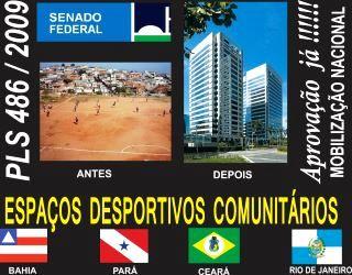 SEIS  ESTADOS UM SO OBJETIVO  LUTA NACIONAL  PELO TOMBAMENTO  DAS  AREAS  PUBLICAS DE NOSSO PAIS