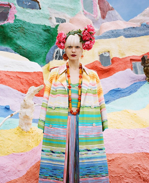 © JUCO Photo (Julia Galdo and Cody Cloud) | Salvation Mountain. Fashion Photography | PaperMag