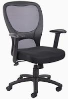 B6508 Boss Mesh Chair