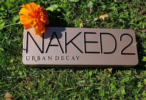 NAKED2 Urban decay šešėlių paletės kopija