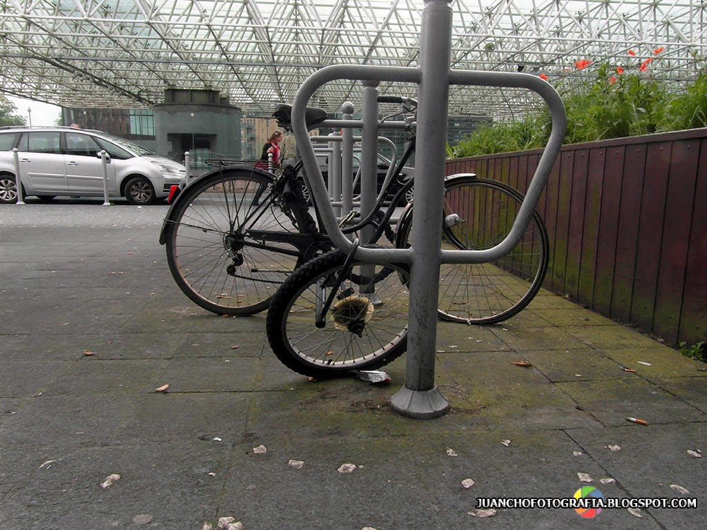 La rueda sin Bici